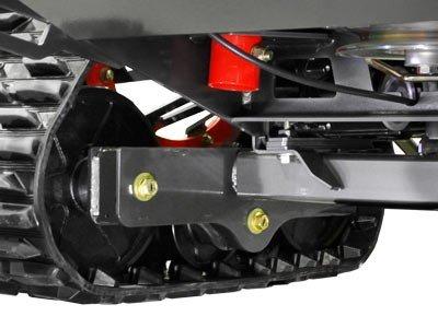 torsion rear axle