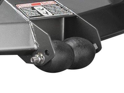 anti scalp zero turn mower wheels