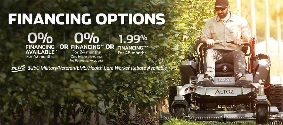 Attractive Financing Options