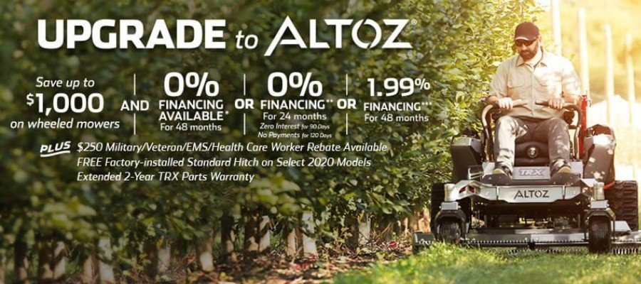 Upgrade to Altoz Promotion